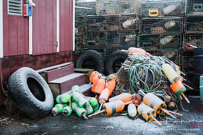 Lobster Buoys, Southwest Harbor, Maine