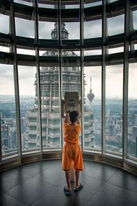 Petronas Tower, Kuala Lumpur, Malaysia - 2015