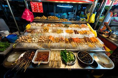 Street Food at Bukit Bintang, Kuala Lumpur, Malaysia - 2015