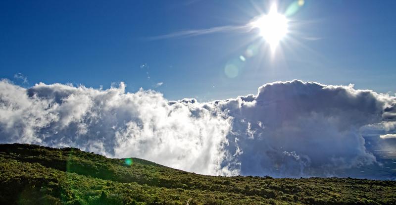 Climbing Mt. Haleakalā