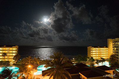 Moonlight in Cancun