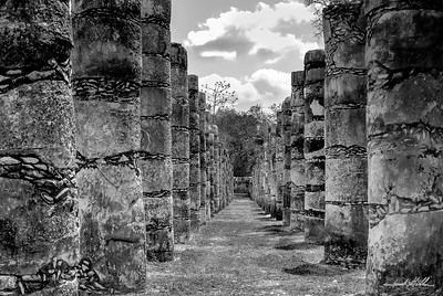 Ruins at Chichen Itza