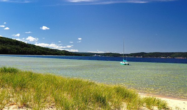 Munising Harbor, Munising Michigan