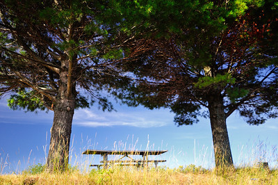 Picnic Table - Munising Harbor, Munising Michigan