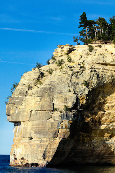 The Indian Head - Pictured Rocks National Lakeshore