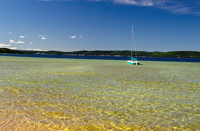 Sailboat, - Munising Michigan