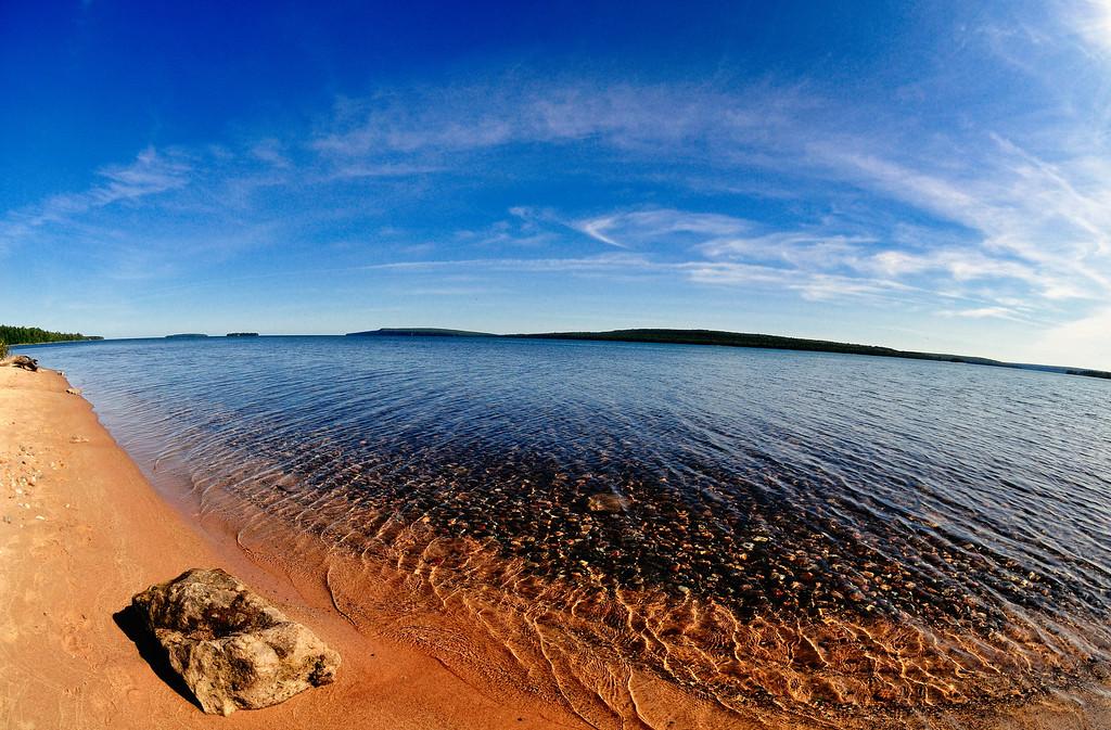 Munising Bay, Munising Michigan