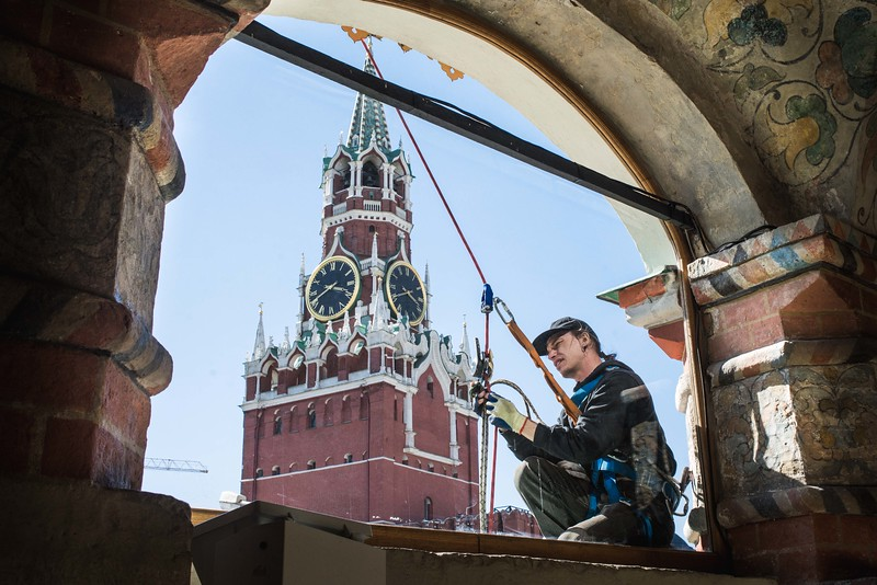 Working on the Kremlin