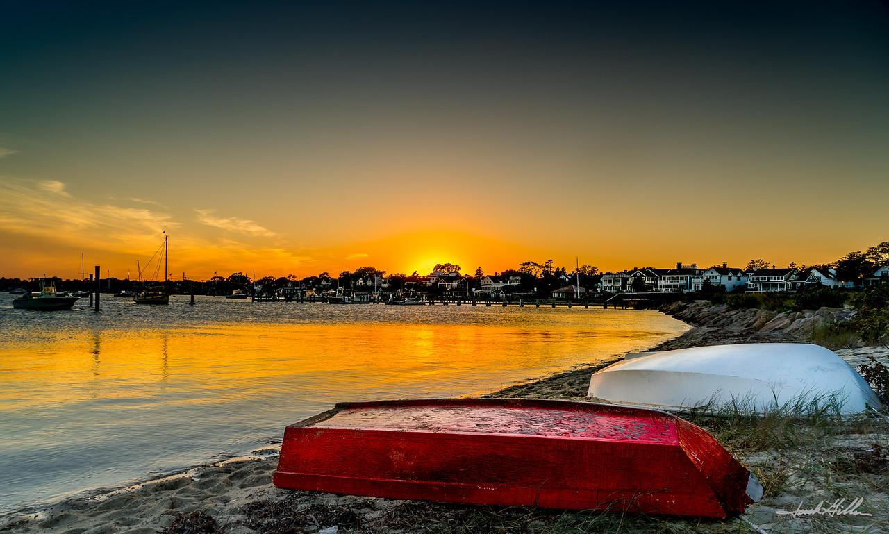 Sunset in Edgartown