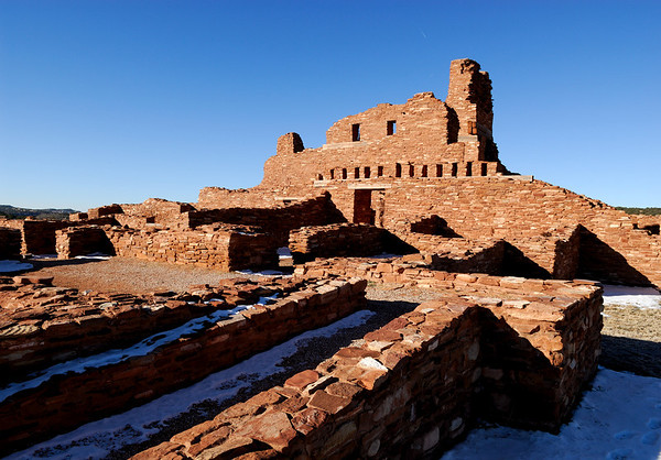 Pueblo Ruins - New Mexico