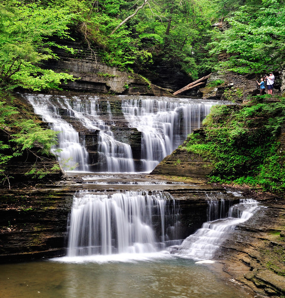 Buttermilk Falls Gorge Trail