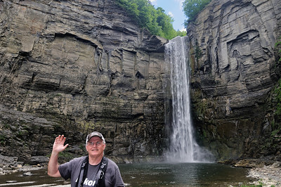 Me at Taughannock Falls