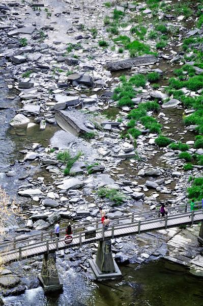 Bridge to Taughannock Falls