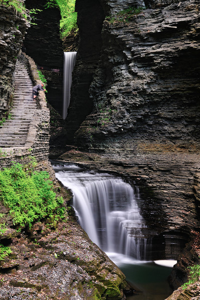 Watkins Glen - Used a 10-Stop ND filter to get a 30 second exposure