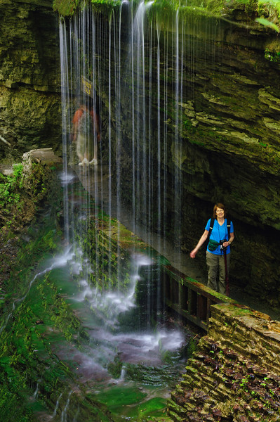 Rainbow Falls - Watkins Glen