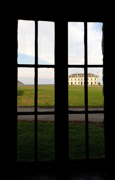 French Castle viewed from the Administration Building