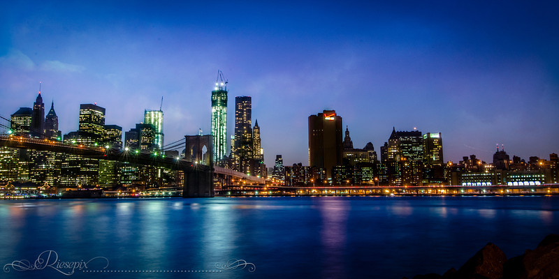 Blue Hour Manhattan