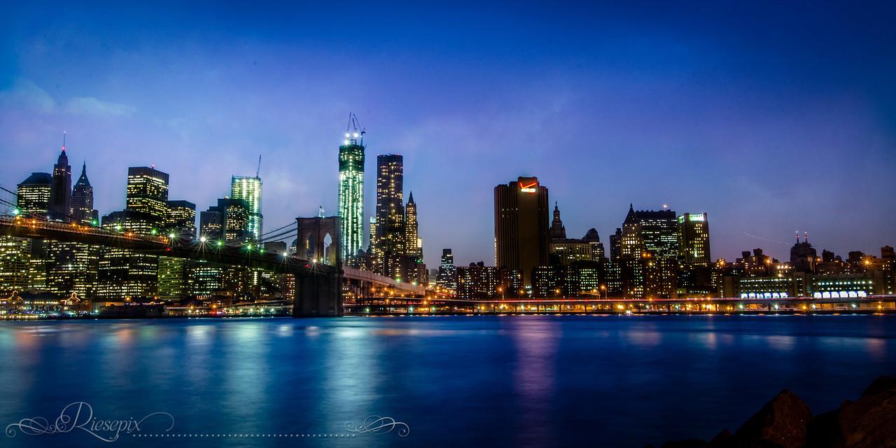 Blue Hour Manhattan