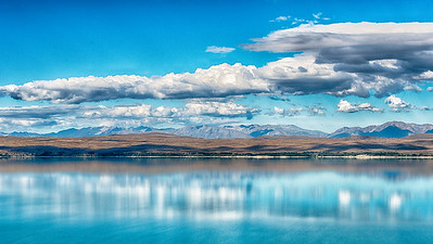 Lake Pukaki, New Zealand - 2016