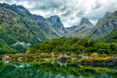 Routeburn Track, Lake Mackenzie, New Zealand - 2016