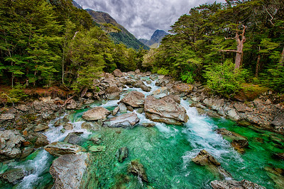 Routeburn Track, New Zealand - 2016