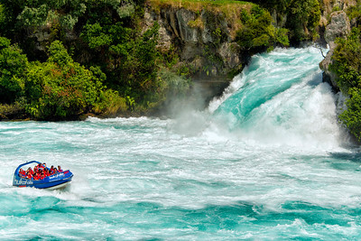 Huka Falls, Taupo, New Zealand - 2016
