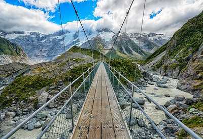 Hooker Valley Trail to Mt. Cook, New Zealand - 2016