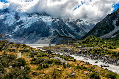 Trail to Mt. Cook, New Zealand - 2016