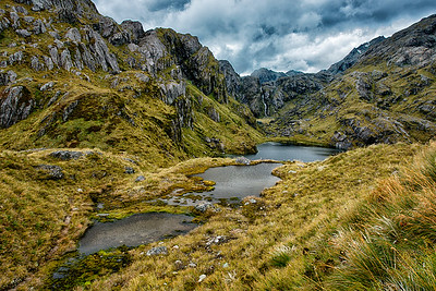 Routeburn Track, Lake Harris and Valley of the Trolls,  New Zealand - 2016