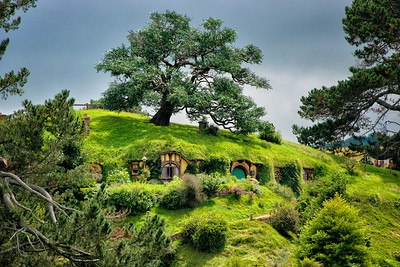 Hobbiton Movie Set, Matamata, New Zealand - 2016