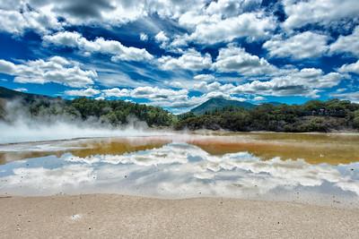Wai-O-Tapu Thermal Park, Rotorua, New Zealand - 2016