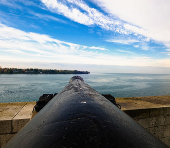 View from the Cannon -Old Fort Niagara