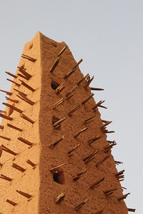 Agadez's mosque; the oldest in the country.