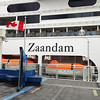 Getting ready to board our cruise ship .. Ms. Zaandam, a Holland America ship.