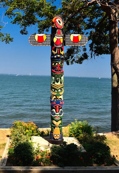 Totem Pole - Kelley's Island
