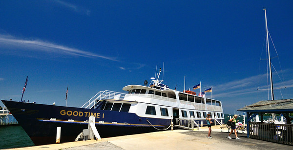 Goodtime I Docked in Put-in-Bay - Lake Erie Islands