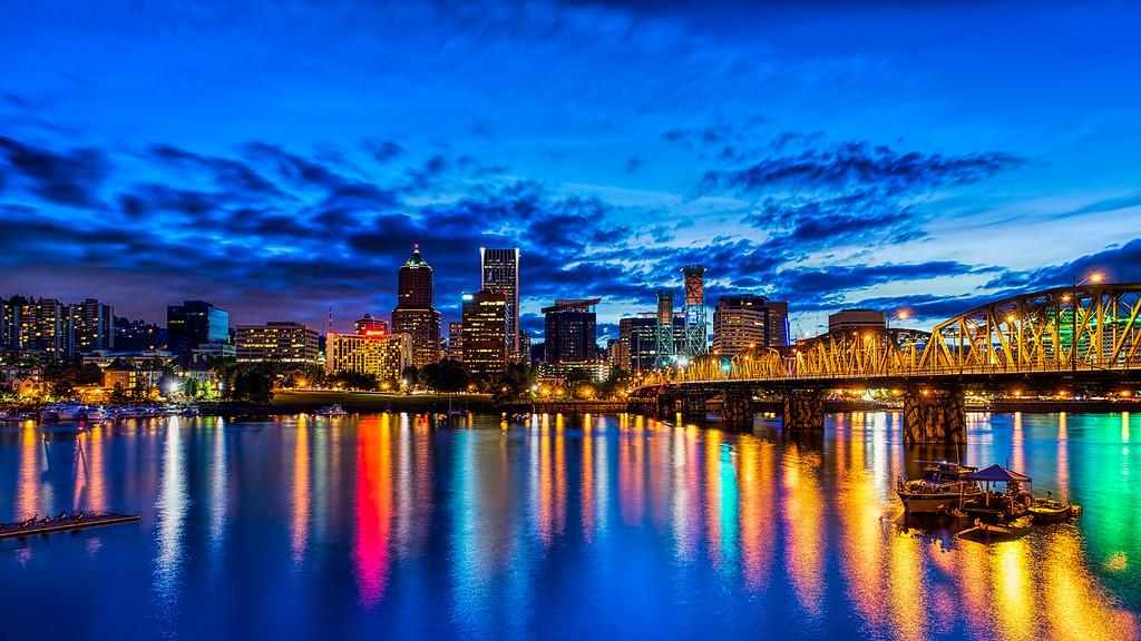 Portland Blue Hour