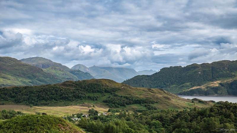 Auchtertyre viewpoint, Scotland
