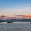 Sunset from Isle of Skye Bridge