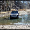 Jeep Wrangler traversing a Pothole (Photo by IM)