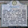 Prescott Historical Marker (Hysterical Marker)