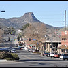 Downtown Prescott and Thumb Butte