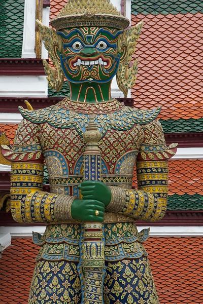 Bangkok, Thailand: Wat Po Temple<br /> TK3_9567