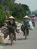On the road, between Ha Long Bay and Hanoi<br /> TK3_2125