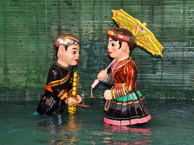 Hanoi- Vietnam: Thang Long Water Puppet Theatre TK3_1650