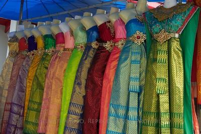 Bangkok, Thailand -Thai Silk Dresses TK3_9393