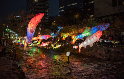 Paper Lantern Festival, Seoul, South Korea - 2014