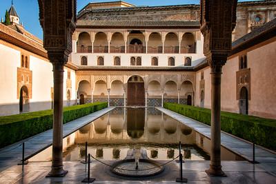 Alhambra, Granada, Spain - 2015