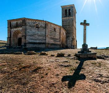 Iglesia de la Vera Cruz, Segovia, Spain - 2015