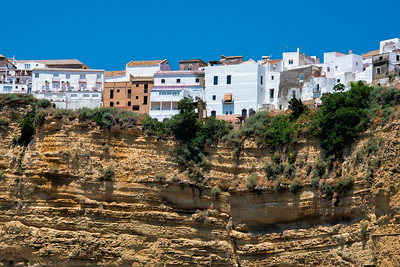 Cliff Edge Houses, Arcos de la Frontera, Spain - 2015